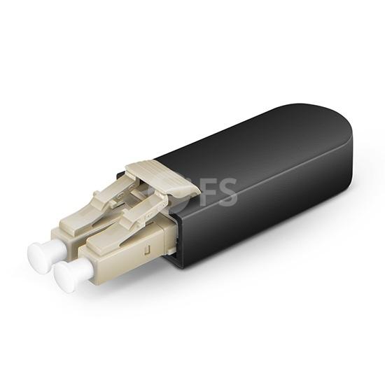 LC/UPC Duplex PVC (OFNR) OM1 62.5/125 Multimode Fibre Loopback Module