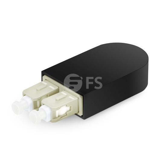 SC/UPC Duplex PVC (OFNR) OM1 62.5/125 Multimode Fibre Loopback Module