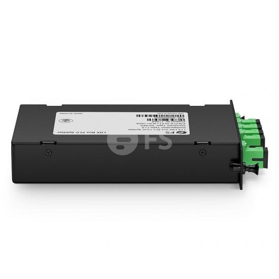 1x4  LGX盒式单模PLC平面波导型光分路器,SC/APC