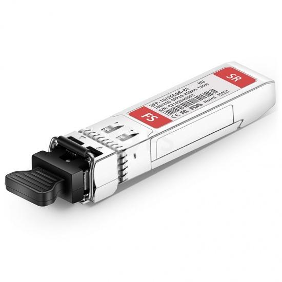 HW SFP-10/25GSR-85 Compatible 10/25GBASE-SR SFP28 850nm 100m DOM LC MMF Optical Transceiver Module