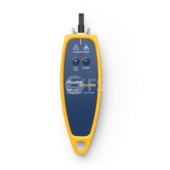 Fluke Networks 1.3mW (3-4km) VisiFault™ Visual Fault Locator - Cable Continuity Tester with 2.5mm Universal Connectors