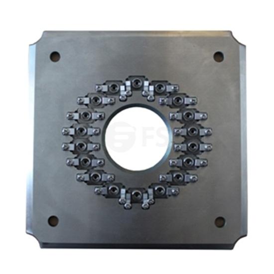 Polishing Fixture/Holder for FC/APC 18 Connectors (FC/APC-18 Connector Jig)