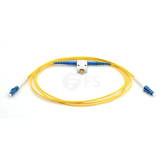 Customized Variable Fiber Optic VOA In-Line Attenuator, SM/MM, 0~60dB