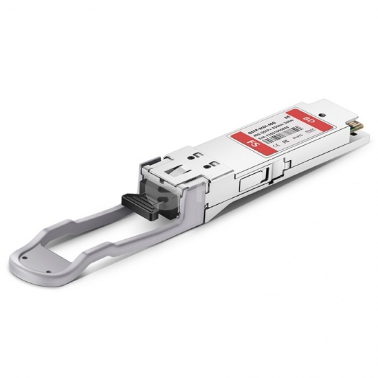 Dell QSFP-40G-SM4 Compatible 40GBASE-SWDM4 QSFP+ 850nm 300m DOM LC MMF Optical Transceiver Module