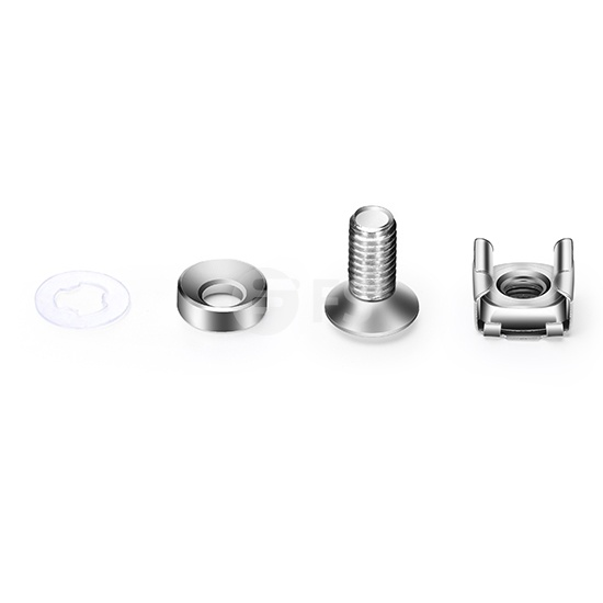 M6 Model Screw and Nut, 50/Pack