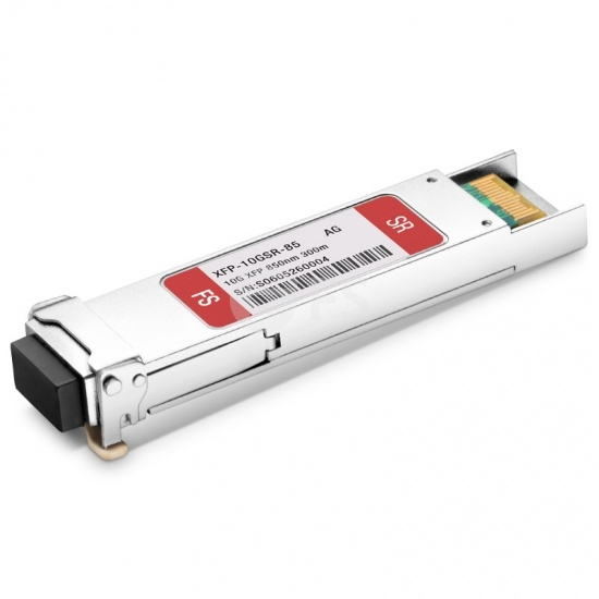 Avago AFBR-720XPDZ Compatible 10GBASE-SR XFP 850nm 300m DOM LC MMF Transceiver Module