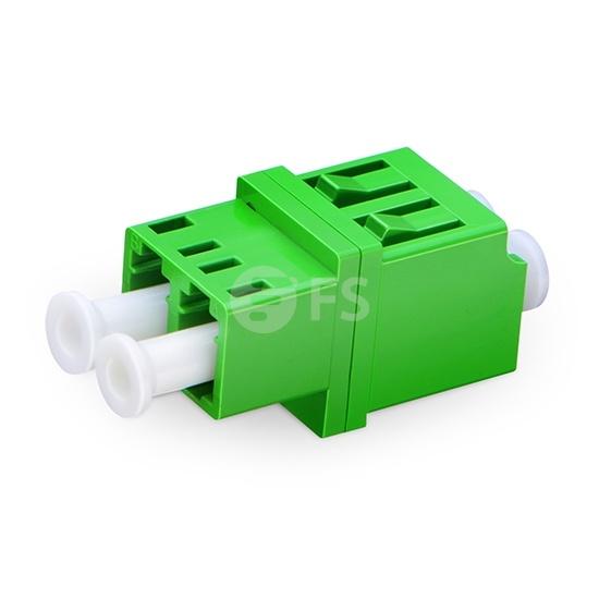 Оптический Переходный Адаптер LC/APC - LC/APC Duplex SM, без Фланца