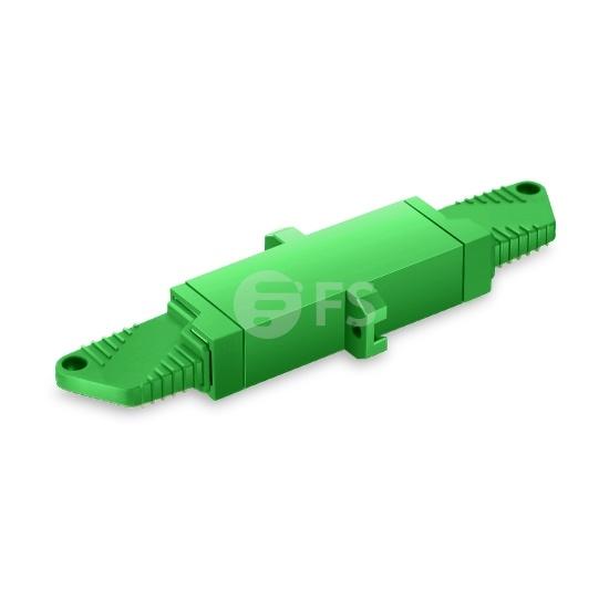 LSH/APC auf LSH/APC Simplex Singlemode LWL-Adapter aus Kunststoff mit Flansch
