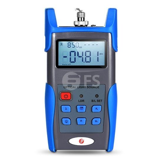 FOLS-108 Handheld Fiber Optical Light Source (850/1300nm) with 2.5mm FC/SC/ST Connector