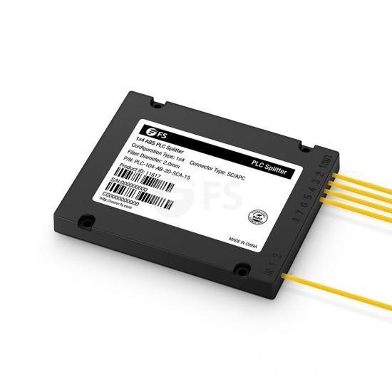 1/2×N ABS盒式单模光分路器