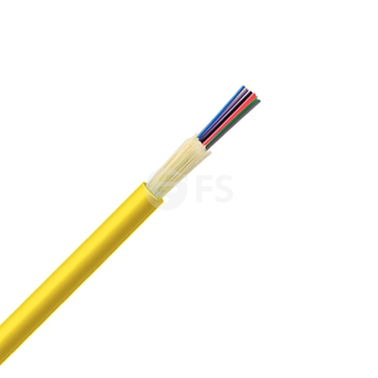 12 Fibres Singlemode 9/125 OS2, Riser, Non-unitized Tight-Buffered Distribution Indoor Cable GJFJV