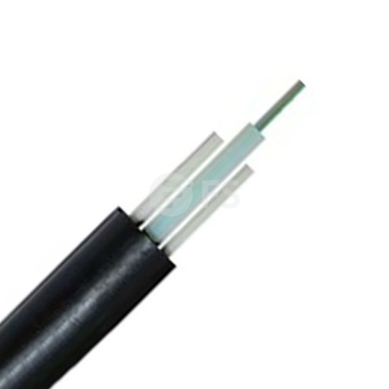 2-24 Fibers Single-Jacket, Central Loose Tube, FRP Strength Member, Waterproof Outdoor Cable GYFXTY