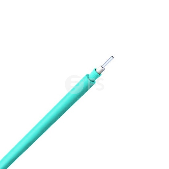 Single-Fibre Multimode 50/125 OM4, Riser, Corning Fibre, Indoor Tight-Buffered Interconnect Fibre Optical Cable