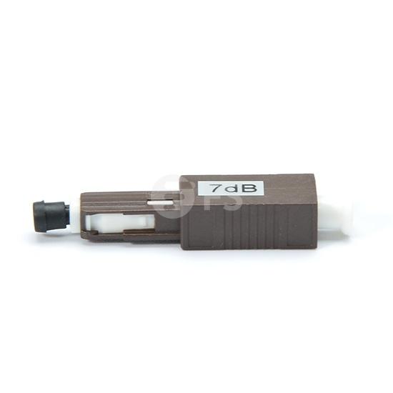 MU / UPC单模固定式光纤衰减器,公头 - 母头,1〜25dB可选