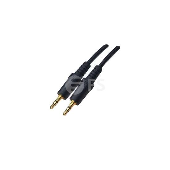 1M Bantam Male to Bantam Male (DS1) AUX Audio Cable 3.5mm Jacket