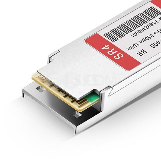 博科(Brocade)兼容40G-QSFP-SR4-INT QSFP+光模块 850nm 150m MTP/MPO DOM