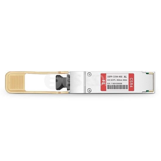 阿尔卡特朗讯(Alcatel-Lucent)兼容QSFP-4X10G-SR QSFP+光模块 850nm 400m MTP/MPO
