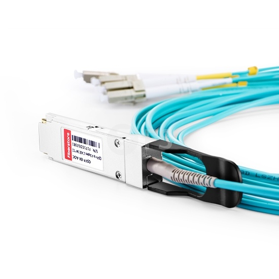 3m F5网络(F5 Networks)兼容OPT-0029-03 QSFP+ 转 4LC双工 有源分支光缆