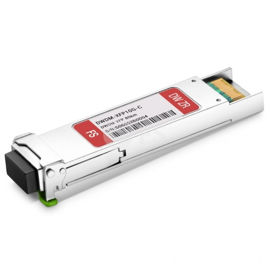 Cisco ONS-XC-10G-C Compatible 10G DWDM C-band Tunable XFP 50GHz 80km DOM LC SMF Transceiver Module