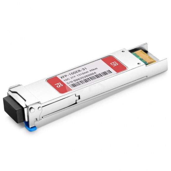 Customised 10GBASE-ER XFP 1310nm 40km DOM Transceiver Module