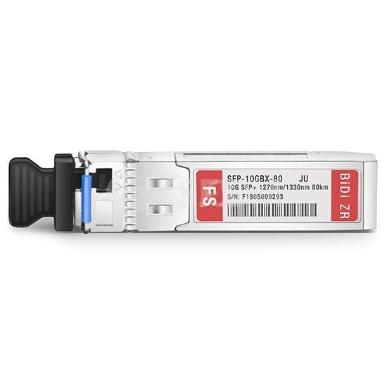 瞻博(Juniper)兼容EX-SFP-10GE-BX23-80 BiDi SFP+万兆单纤双向光模块  1270nm-TX/1330nm-RX 80km