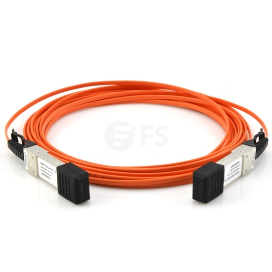 7m 戴尔(Dell/Force10)   CBL-QSFP-40GE-7M QSFP+ 转 QSFP+ 有源光缆