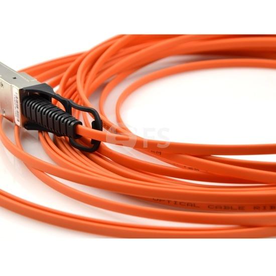 25m 极进(Extreme)兼容40GB-F25-QSFP QSFP+ 转 QSFP+ 有源光缆