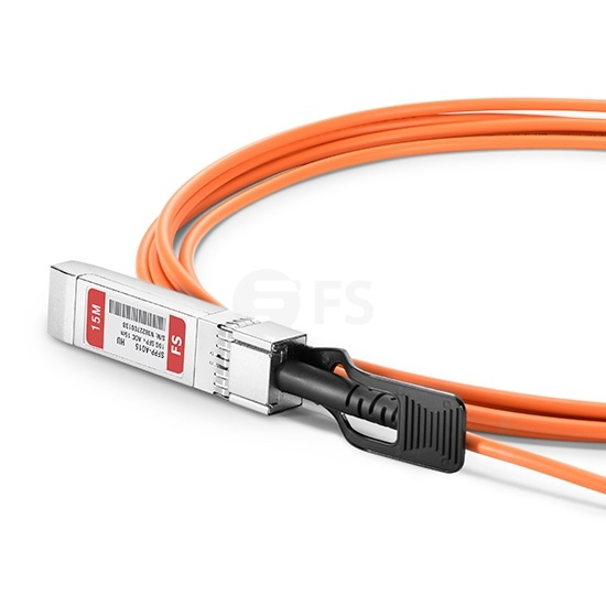 15m HW兼容  SFP-10G-AOC15M SFP+ 转 SFP+ 有源光缆