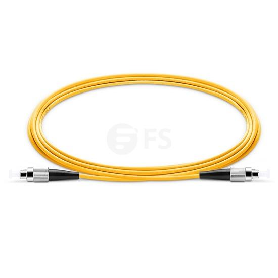 10m (33ft) FC/UPC-FC/UPC シンプレックス シングルモード 光パッチケーブル(2.0mm、PVC/OFNR、9/125 )
