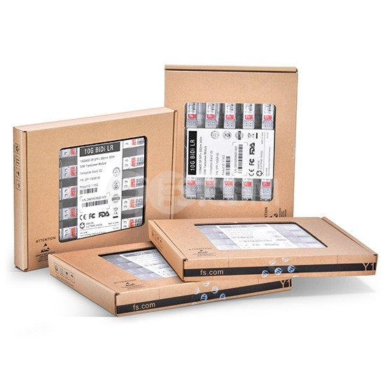 戴尔(Dell)兼容GP-SFP-10GBX-U-20 BiDi SFP+万兆单纤双向光模块 1270nm-TX/1330nm-RX 20km