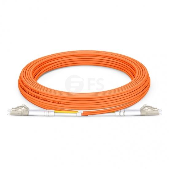 LC-LC UPC Duplex OM2 Multimode Fibre Patch Lead 2.0mm PVC (OFNR) 5m
