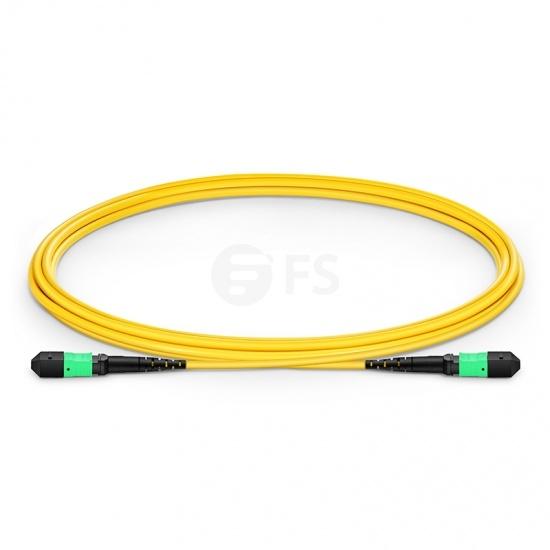12 Fibres MTP to MTP Female LSZH OS2 Single Mode Elite Fibre Trunk Cable, Type B, 2m