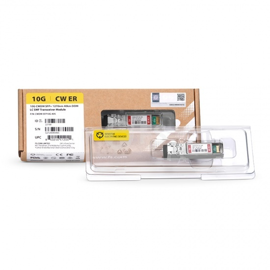 瞻博(Juniper)兼容EX-SFP-10GE-CWE33 CWDM SFP+万兆光模块 1330nm 40km
