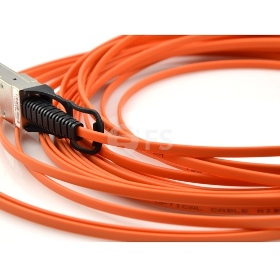 30m 瞻博(Juniper)兼容EX-SFP-40GE-AOC-30M QSFP+ 转 QSFP+ 有源光缆