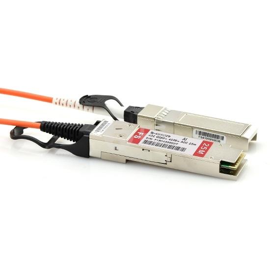 25m Arista Networks兼容QSFP-4X10G-AOC25M QSFP+ 转 4SFP+ 有源分支光缆