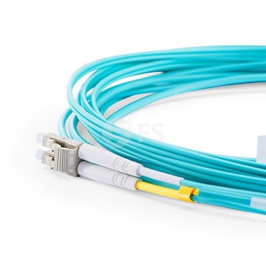 5m HW兼容  QSFP-8LC-AOC5M QSFP+ 转 4LC双工 有源分支光缆