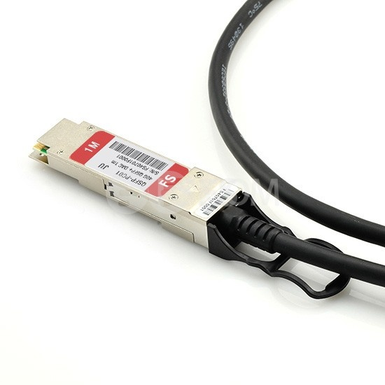 2m 瞻博(Juniper)兼容JNP-QSFP-DAC-2M QSFP+转QSFP+ 无源铜芯高速线缆
