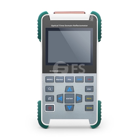 FOTR-201 Hand-OTDR (1310±20nm/1550±20nm, 24/22dB), kompatibel mit FC/SC Steckverbindern