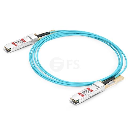 5m 博科(Brocade)兼容QSFP28-100G-AOC-5M QSFP28 转 QSFP28 有源光缆