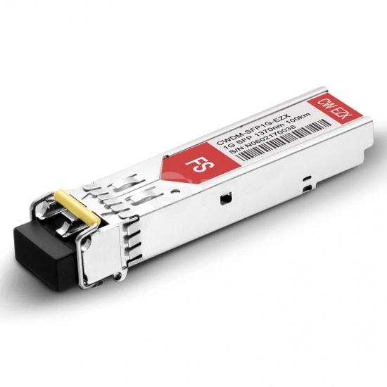 Cisco CWDM-SFP-1370-100 Compatible 1000BASE-CWDM SFP 1370nm 100km DOM LC SMF Transceiver Module