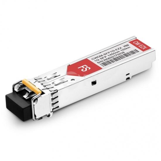 HW 0231A10-1450 1450nm 100km Kompatibles 1000BASE-CWDM SFP Transceiver Modul, DOM