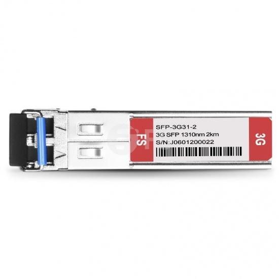 3G-SD/HD/3G-SDI MSA 数字视频 SFP光模块 1310nm 2km  收发一体 病理式
