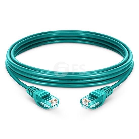 Cable de red Ethernet LAN RJ45 UTP Cat5e 15m 10/100/1000 Mbps PVC - verde
