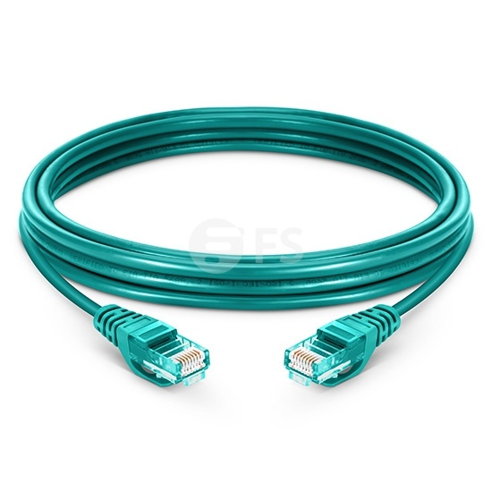 Cable de red Ethernet LAN RJ45 UTP Cat5e 60m 10/100/1000 Mbps PVC - verde