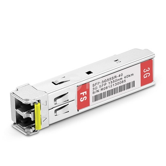 3G-SD/HD/3G-SDI MSA SFP光模块 1550nm 40km SMF  单接收 病理式