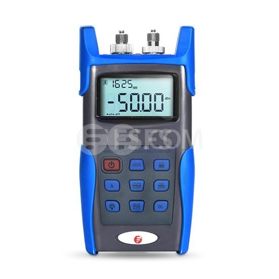 Medidor de potencia FHOM-101 + multímetro óptico portátil con fuente de láser y conector FC/SC/ST de 2,5 mm