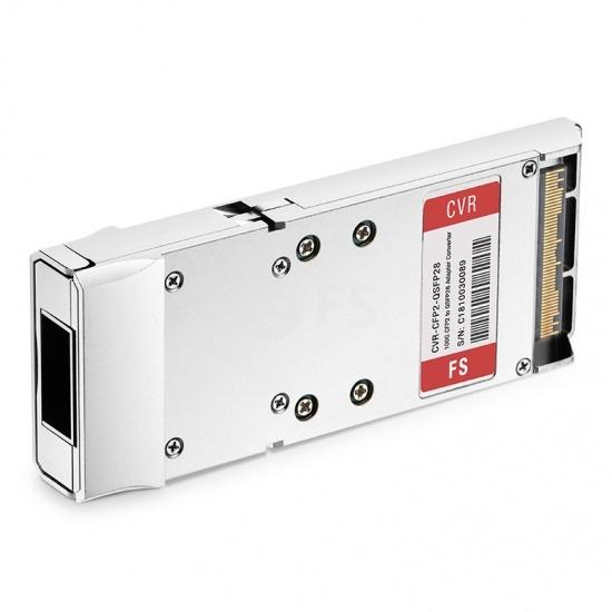 思科(Cisco)兼容CVR-CFP2-100G 100G CFP2转QSFP28转换模块