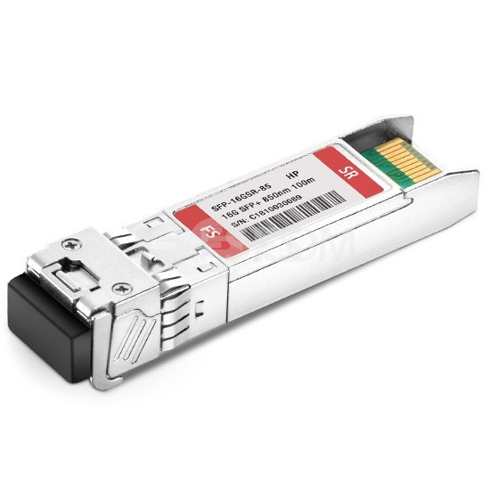 Módulo Transceptor SFP+ Fibra Multimodo 16G Canal de Fibra 850nm DOM hasta 100m - Compatible con HPE QK724A