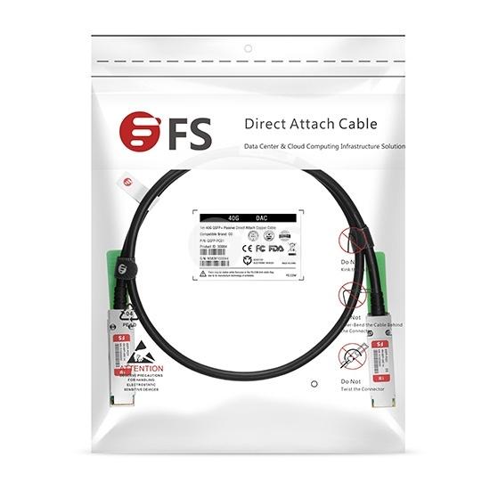 定制40G QSFP+无源铜芯高速线缆