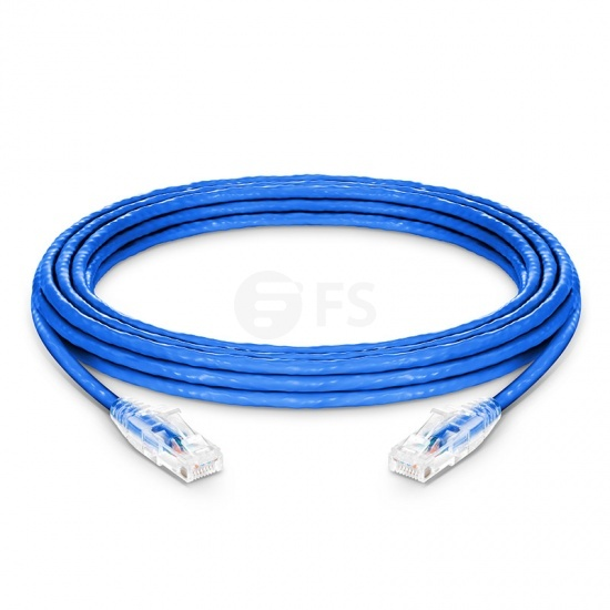 CABLES TO GO 25FT CAT5E 350 MHZ Solid Patch Cable Blue